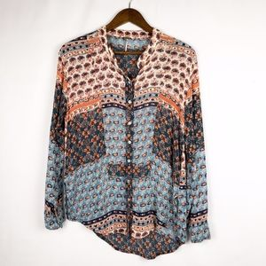 FREE PEOPLE Long Sleeve Tunic in EUC - Size Small